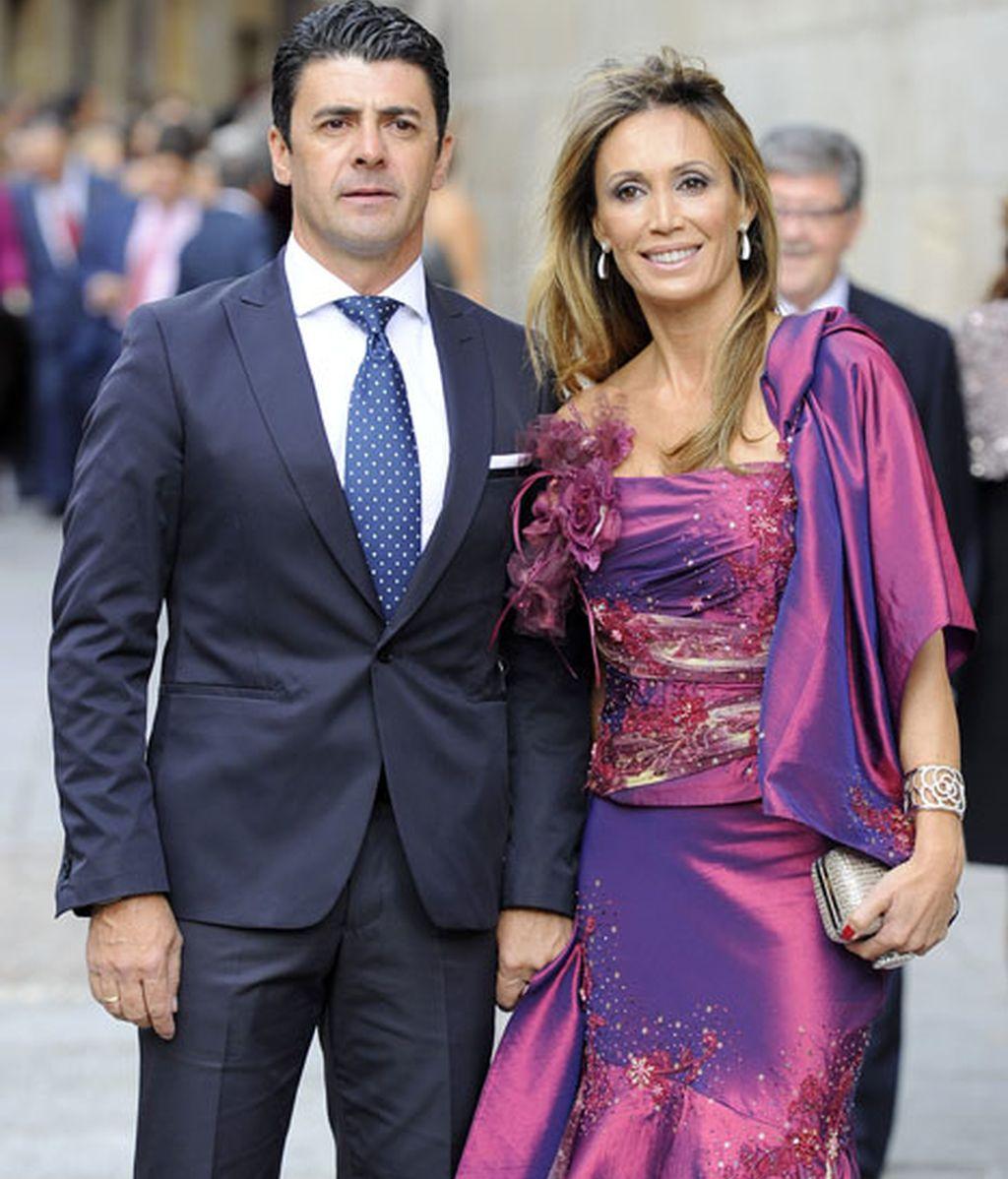 La ex-torera Cristina Sánchez y su marido, Alejandro da Silva