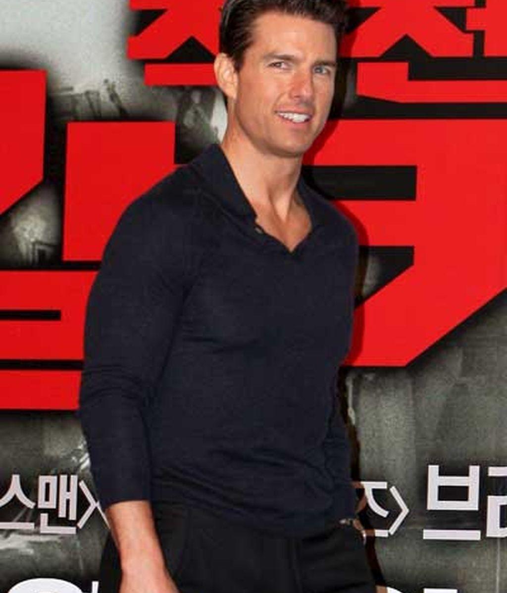 Tom Cruise, de promoción en Corea del Sur