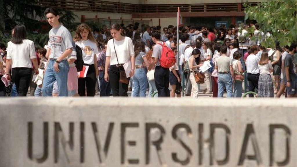 Estudiantes de la Universidad complutense
