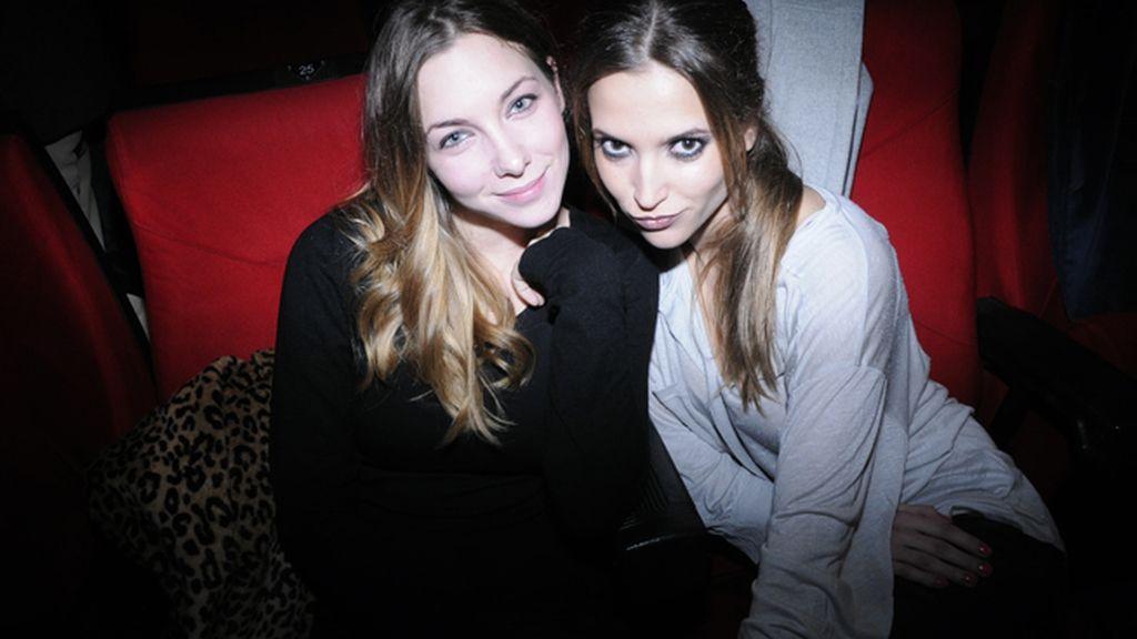 Las actrices Natalia Rodríguez y Ana Fernández