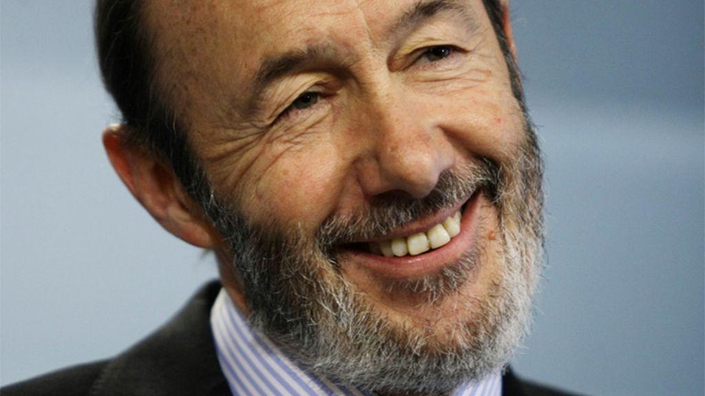 Alfredo Pérez Rublacaba sonríe tras la detención de otro etarra