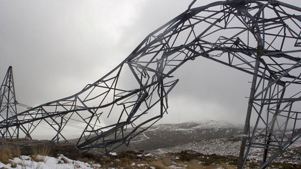 Alerta por nieve y viento