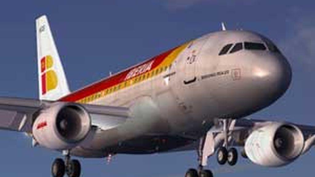 Iberia ha cancelado una media de 40 vuelos diarios. Foto: Archivo.
