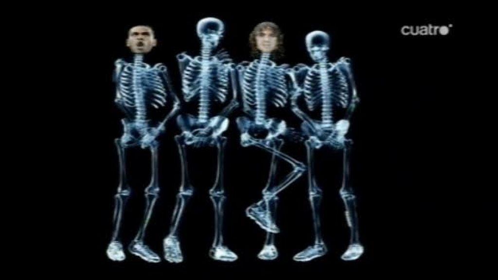 El sistema óseo del Barça