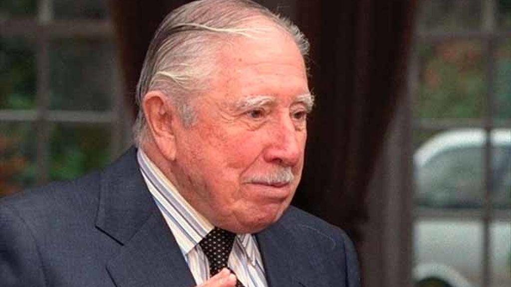 El dictador Augusto Pinochet