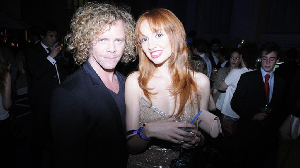 Jimmy Shaw y Cristina Castaño