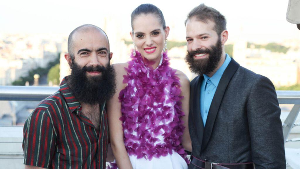 Carlos Díez, Marina Jamieson y David García Miras