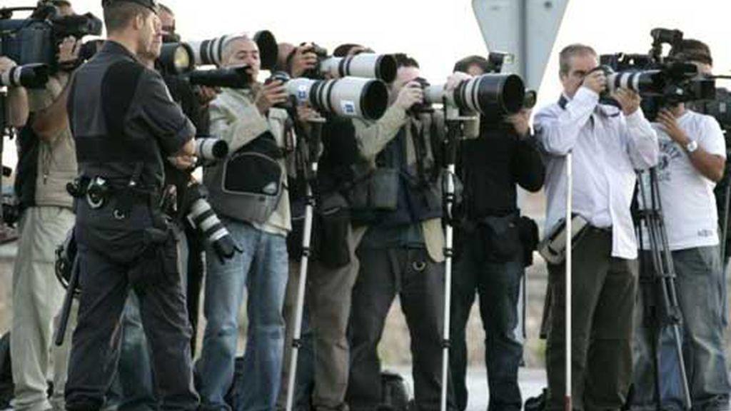 La prensa espera la salida del etarra