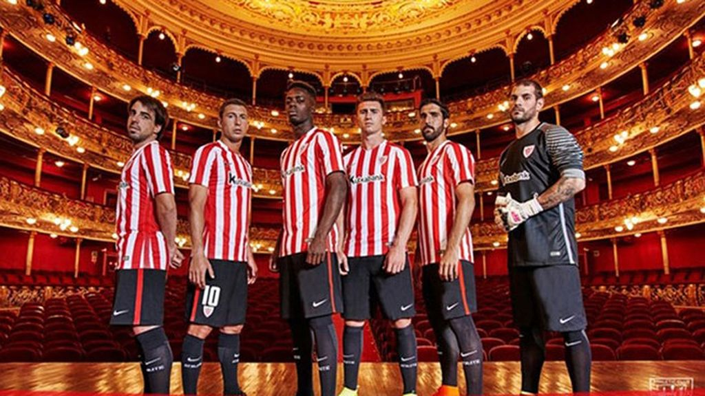 Equipación del Athletic Club de Bilbao en la temporada 2016/2017