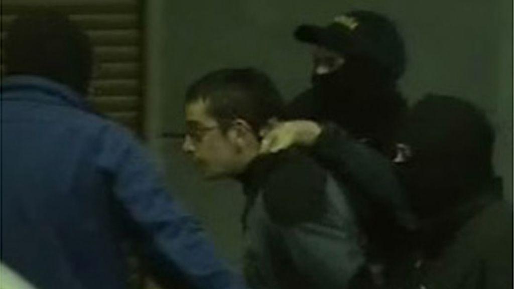Detención de un presunto miembro del SEGI