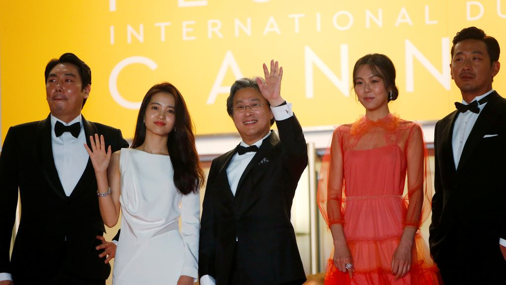 El elenco de  'The Handmaiden' en Cannes