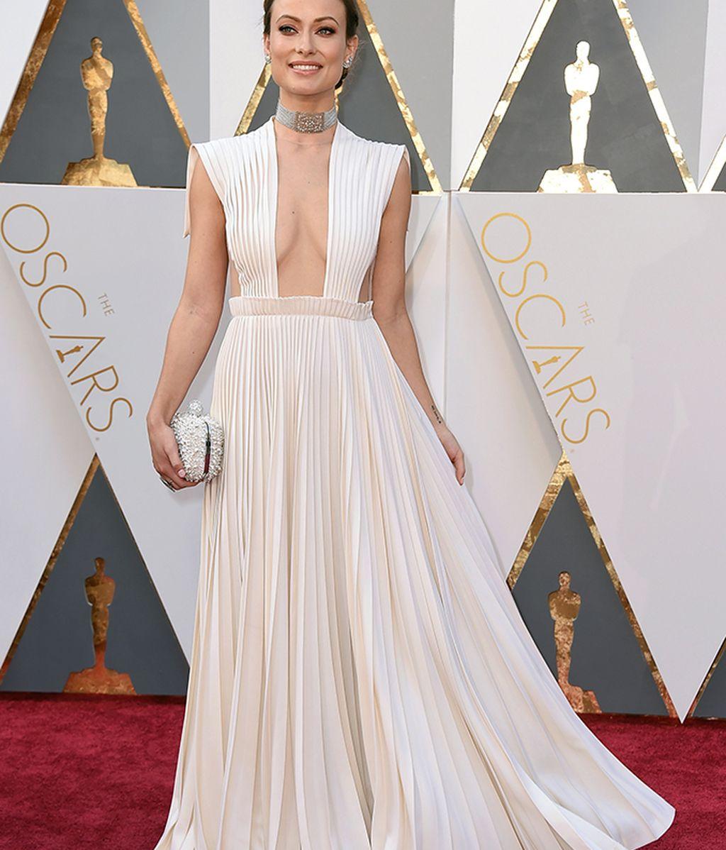 Olivia Wilde vestida de Maison Valentino