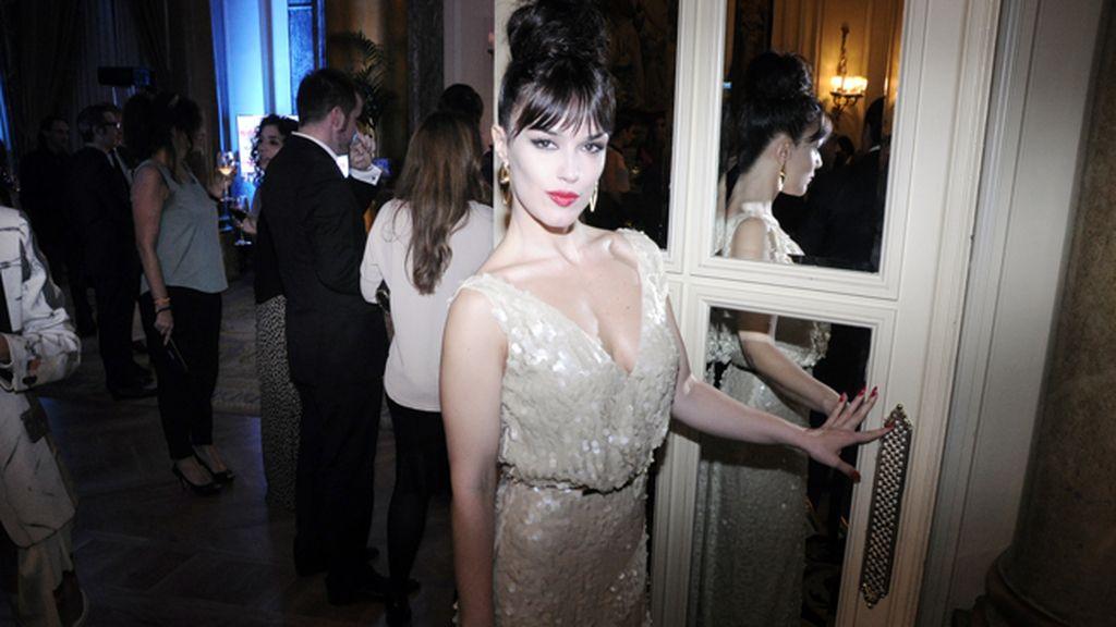 """Sara Vega, que está inmersa en el rodaje de la serie """"Lolita Cabaret"""""""