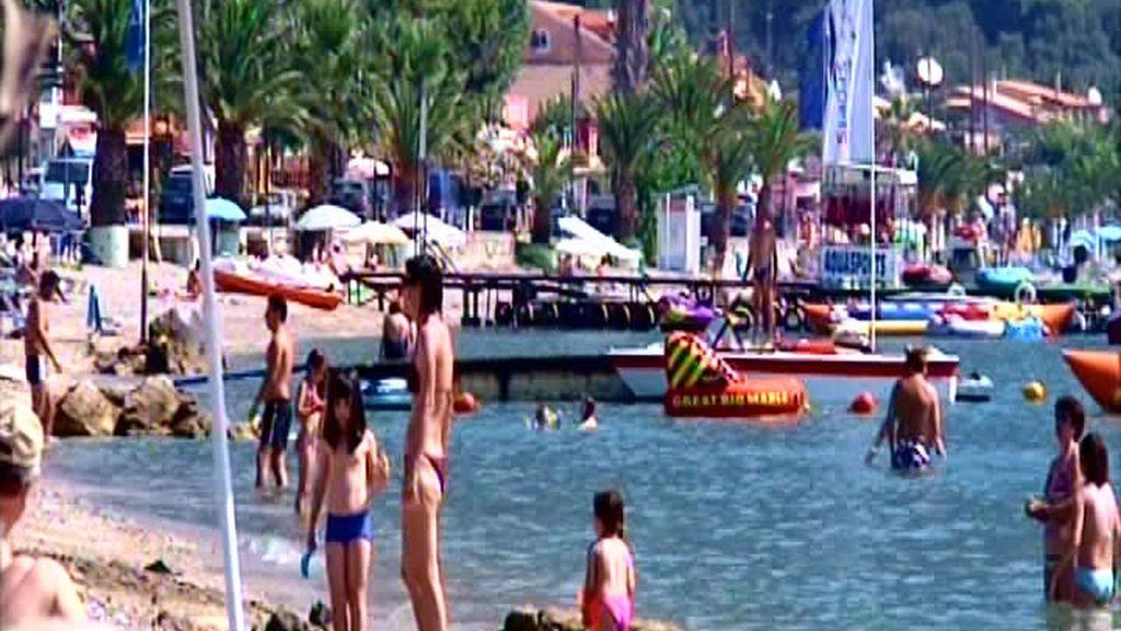 Turistas en Islas Jónicas