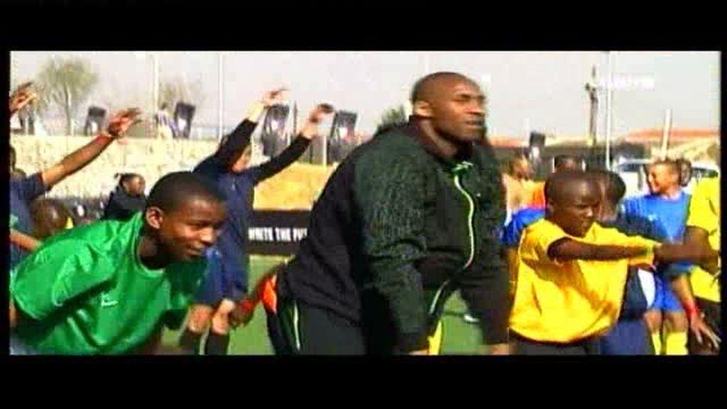 Kobe Bryan en Soweto