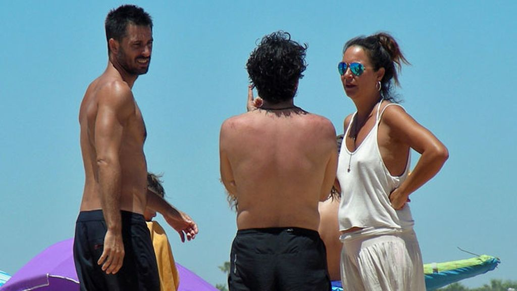 Silva acaba de terminar el rodaje de 'El intercambio', junto a Pepón Nieto