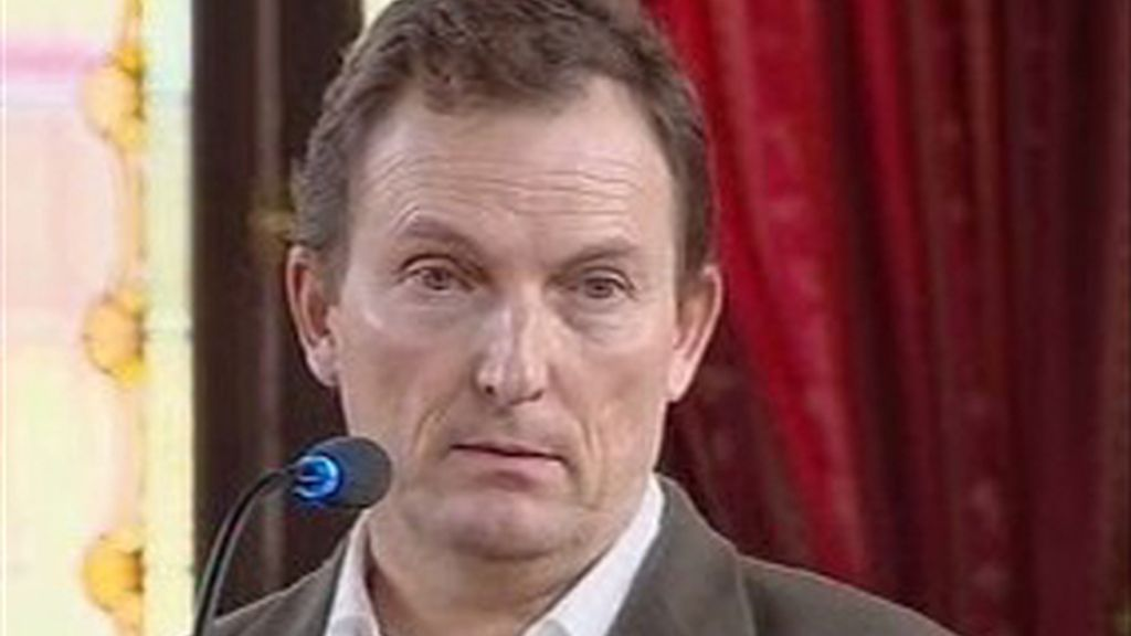 Santiago Mainar durante el juicio