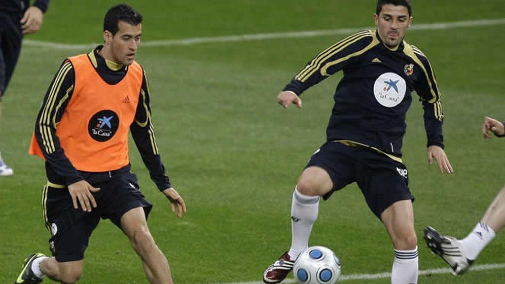 España prepara el partido de vuelta