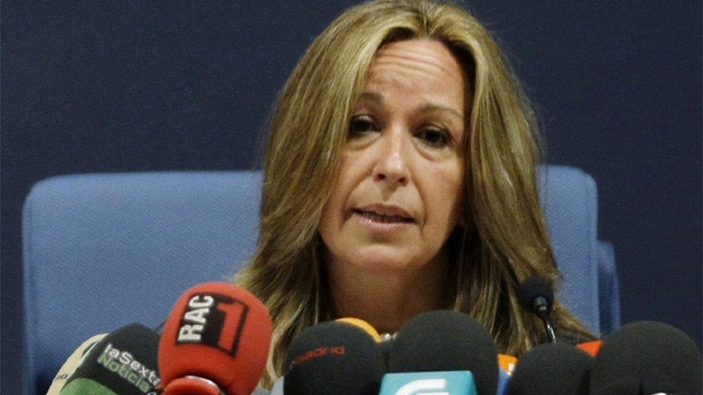 Trinidad Jiménez, ministra de Sanidad