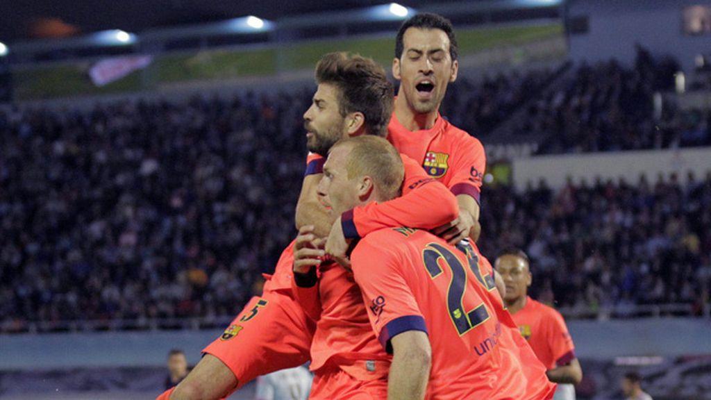 El Barcelona vence al Celta de Vigo