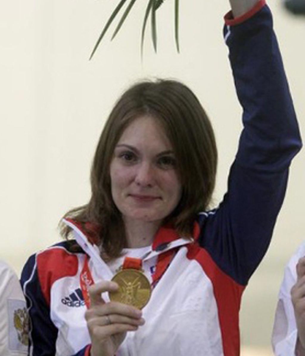 La checa Emmons gana en carabina sobre 10 metros el primer oro de Pekín 2008