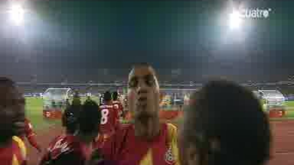 Boateng adelanta a Ghana (0-1)