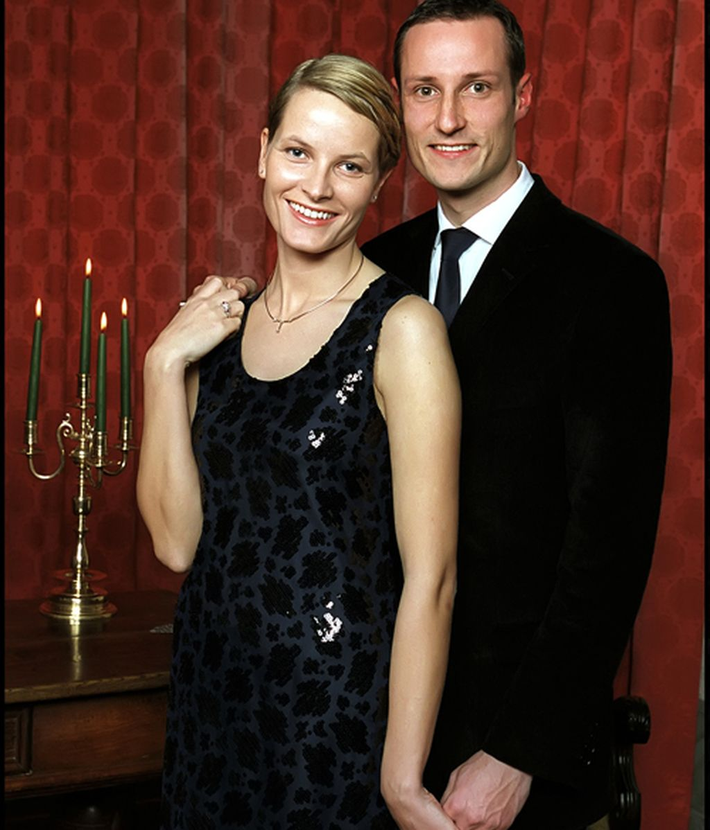 Haakon y Mette Marit, diez años de amor