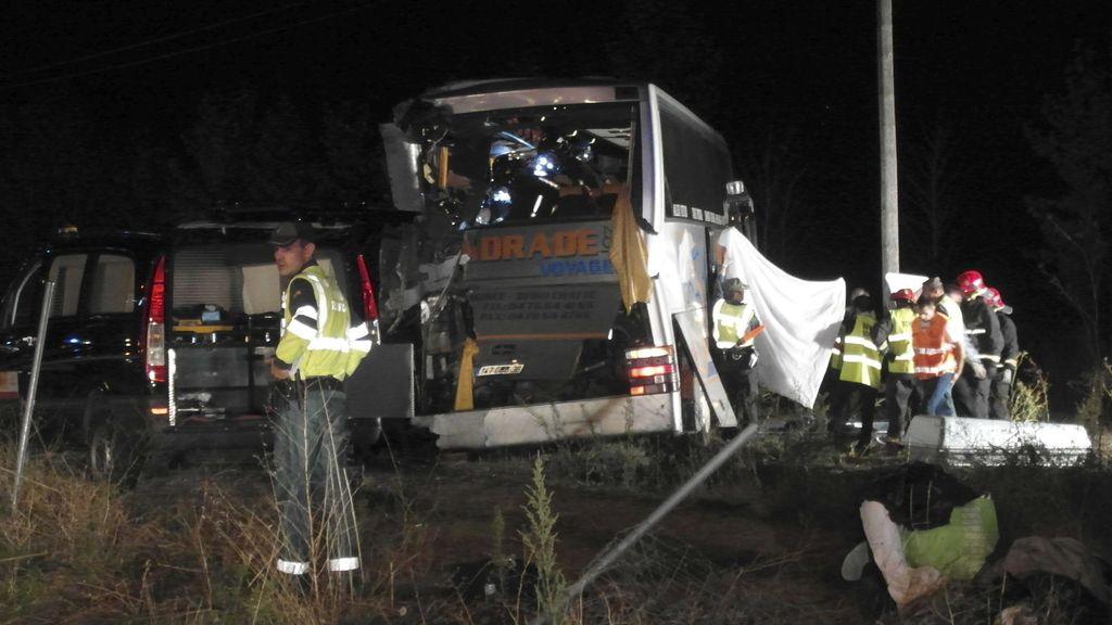 Accidente en Palencia
