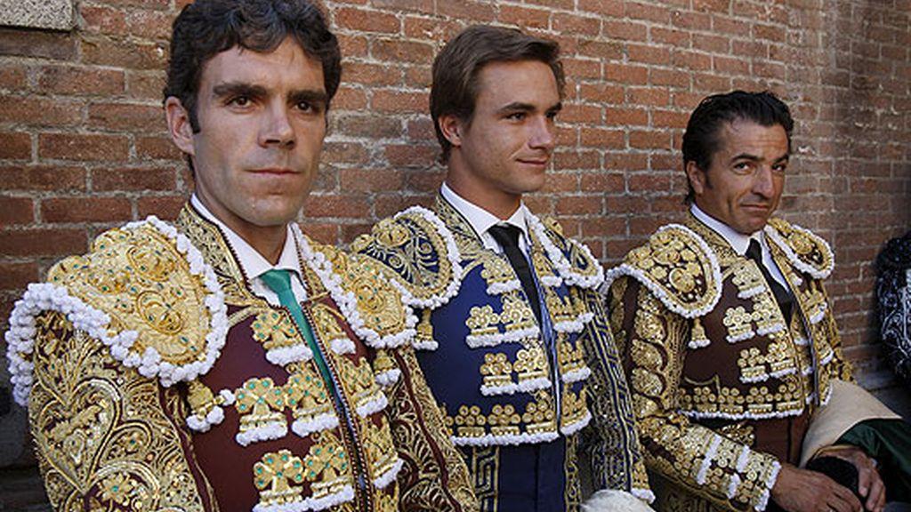 José Tomás, Juan Bautista y 'El Fundi'