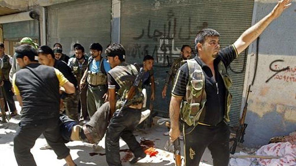 Siria bombardeos