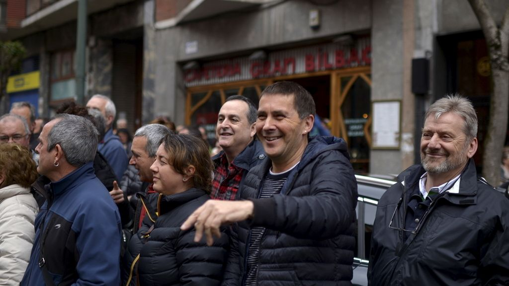 Arnaldo Otegi en Bilbao