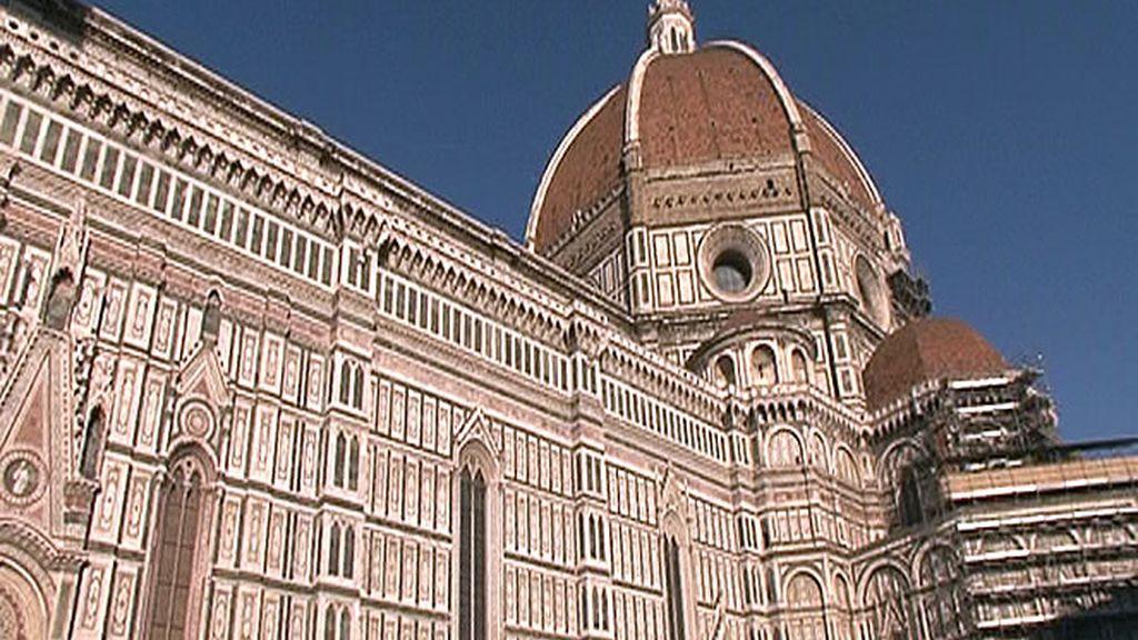 La cúpula del Duomo de Florencia, uno de los monumentos más representativos de la ciudad