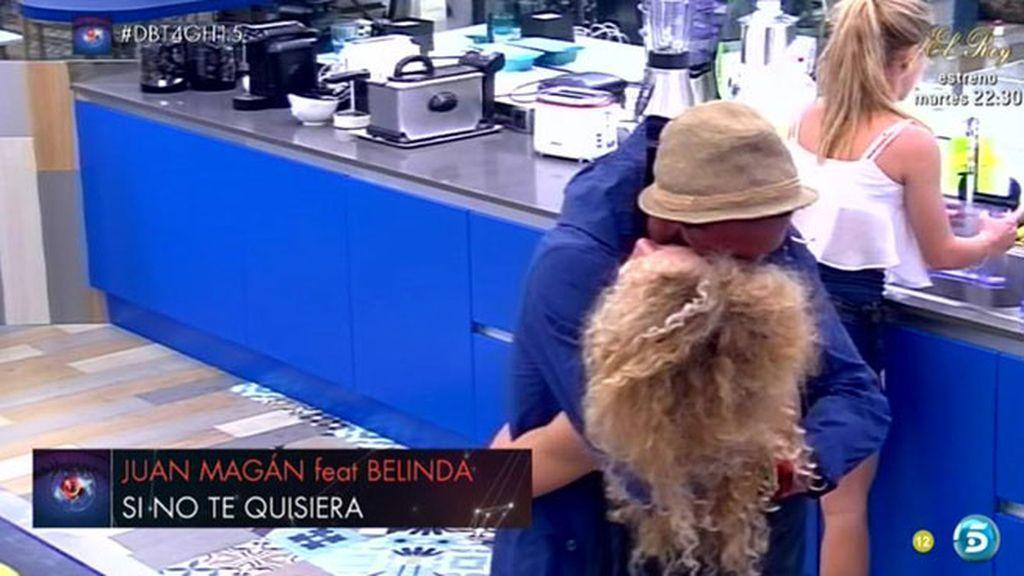 """Juanma: """"Estoy contento porque voy a poder estar más contigo"""""""