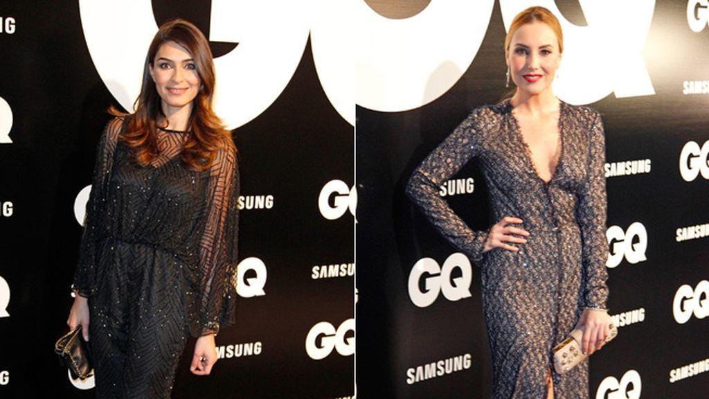 La periodista Marta Fernández y la presentadora Berta Collado, eligieron modelos más discretos