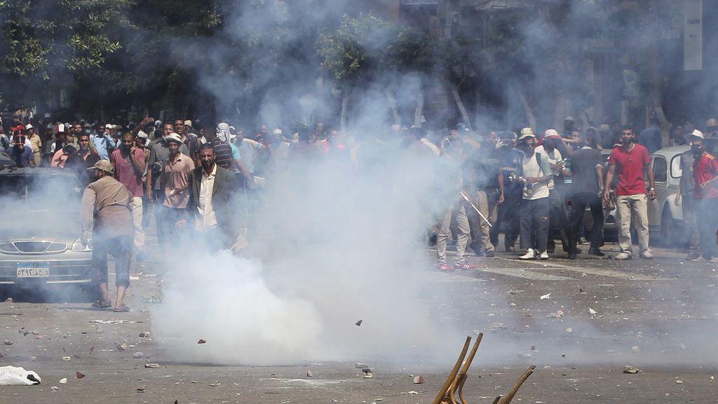 Enfrentamientos entre partidarios de Mursi y la policía