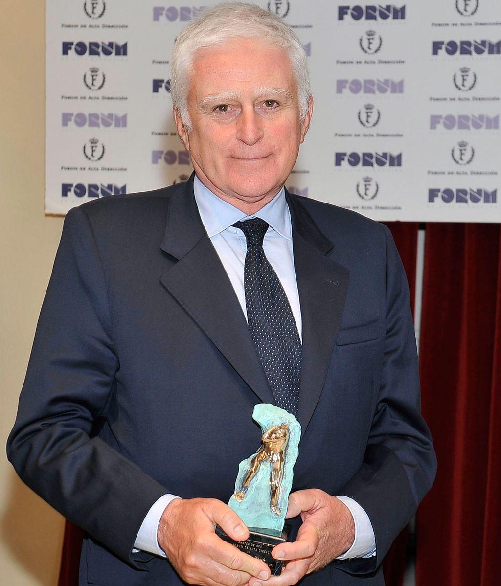 Paolo Vasile, galardonado con el Máster de Oro del Real Fórum de Alta Dirección
