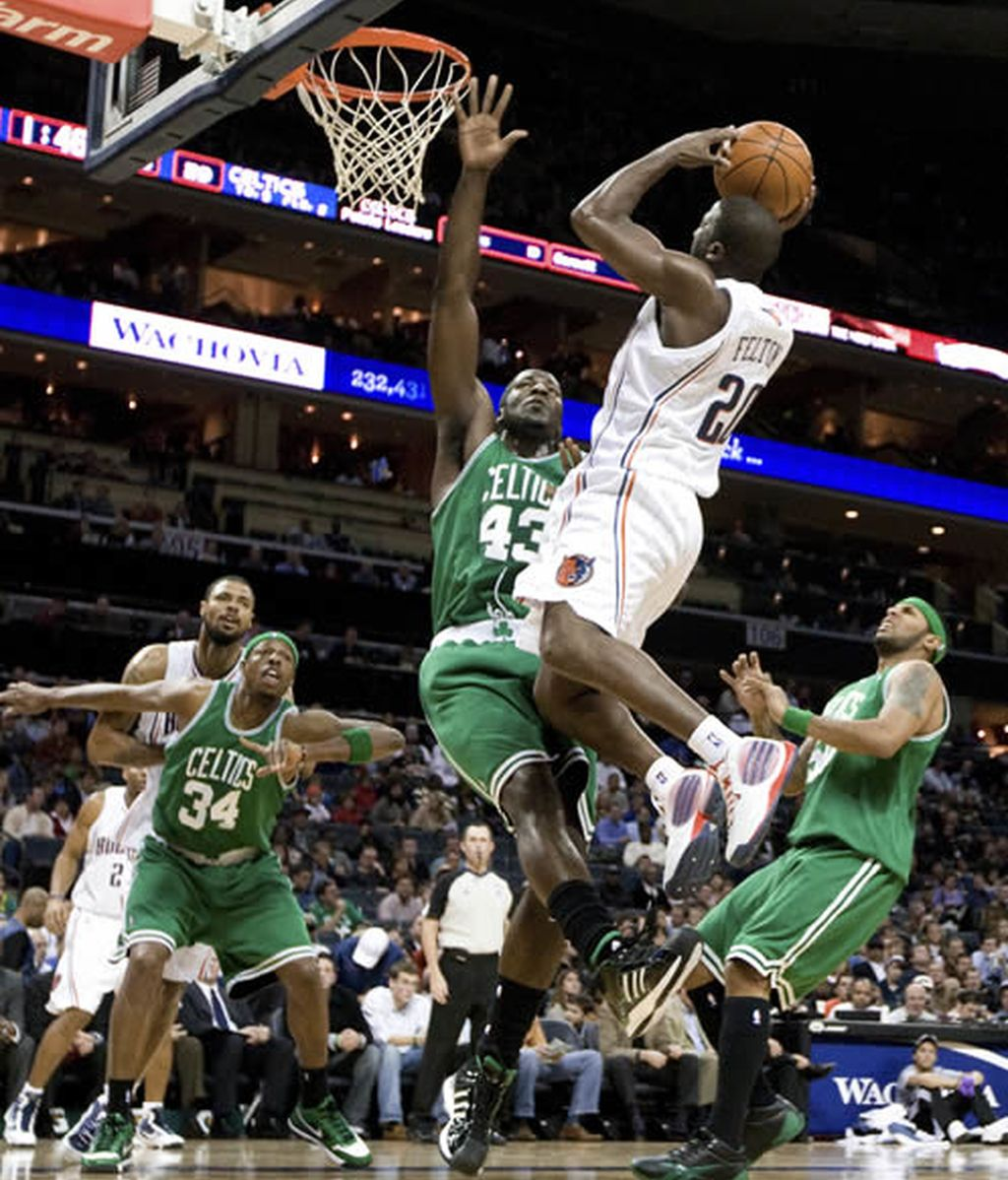 Boston Celtics vs Charlotte Bobcats
