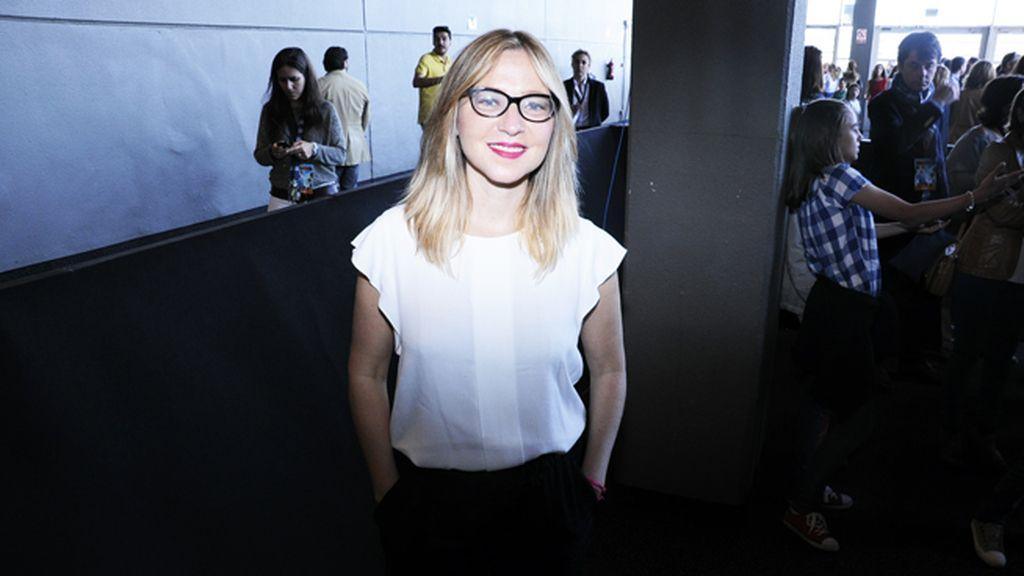 """Pilar Castro, una de las protagonistas de la próxima película de Félix Sabroso """"El tiempo de los monstruos"""""""