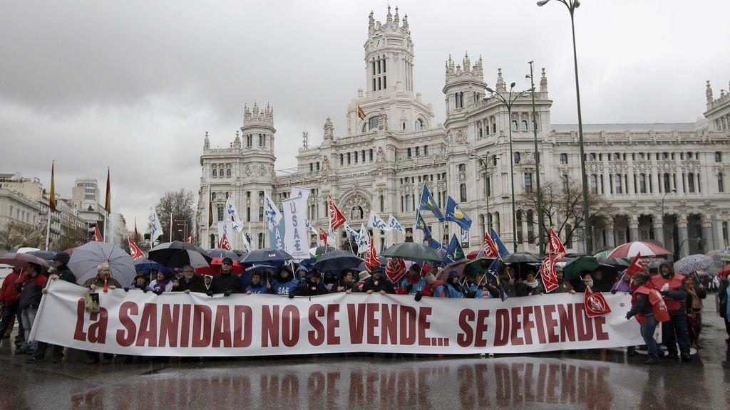 'Marea Blanca' en Madrid