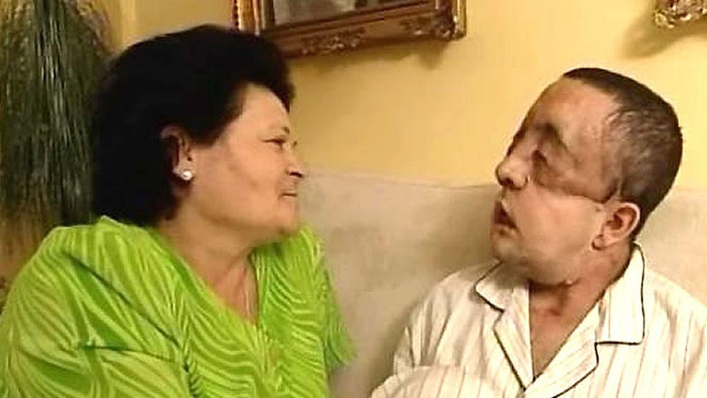 Juana, la madre de Rafael, esperanzada con la evolución de su hijo