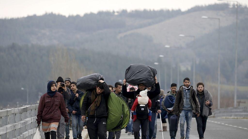 ruta de los Balcanes,inmigración UE,inmigrantes UE,refugiados UE