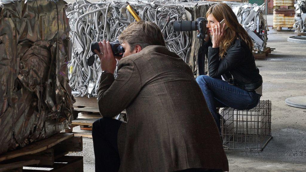 Primeras imágenes de la actriz Stana Katic en el que será su último capítulo
