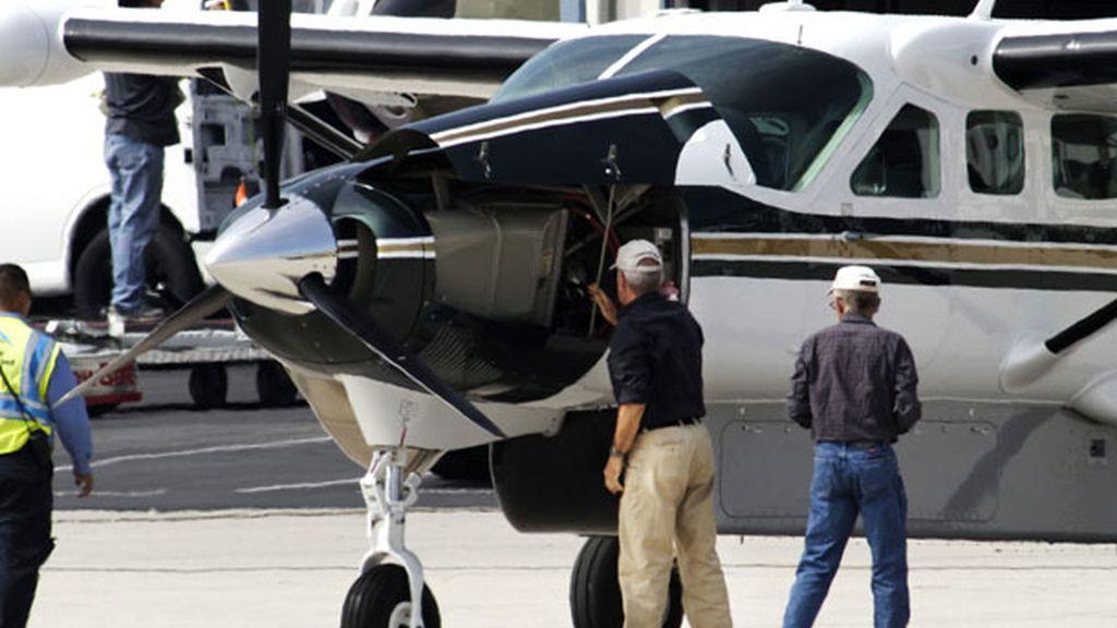 Su jet es un CJ-3, un avión de negocios