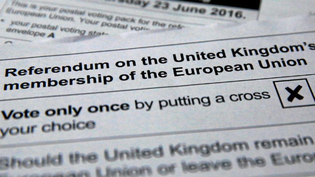 papeleta voto Brexit