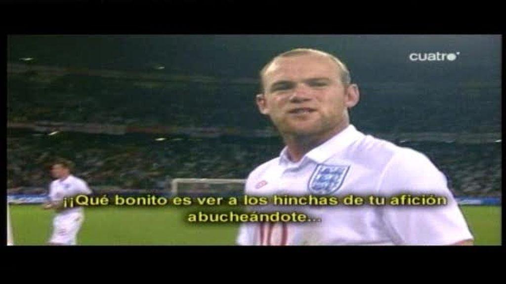 Rooney contra la afición