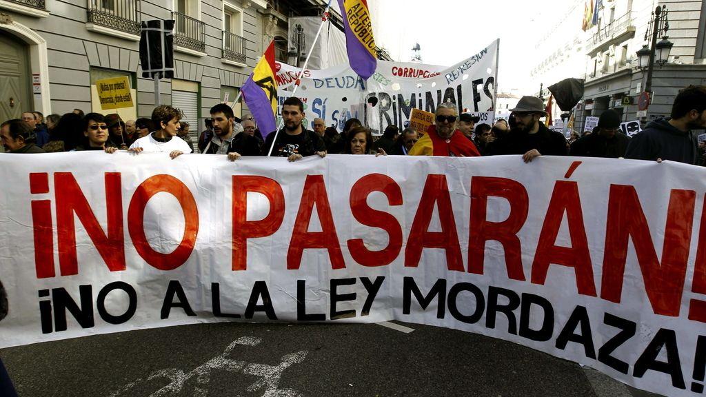 """Marea Ciudadana contra los """"recortes"""" de derechos civiles y libertades"""