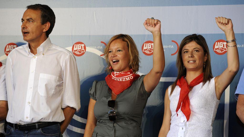 Zapatero participó hace dos años en las fiestas de Rodiezmo