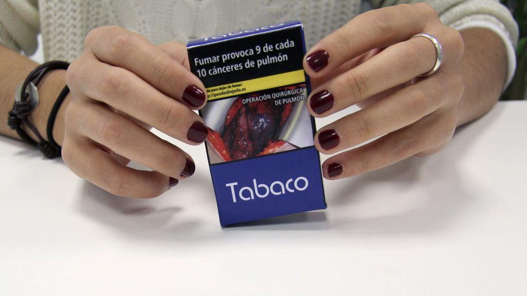 Fotos impactantes en las cajetillas de tabaco