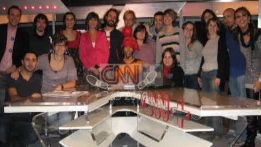 El equipo del 'finde' se despide de CNN+