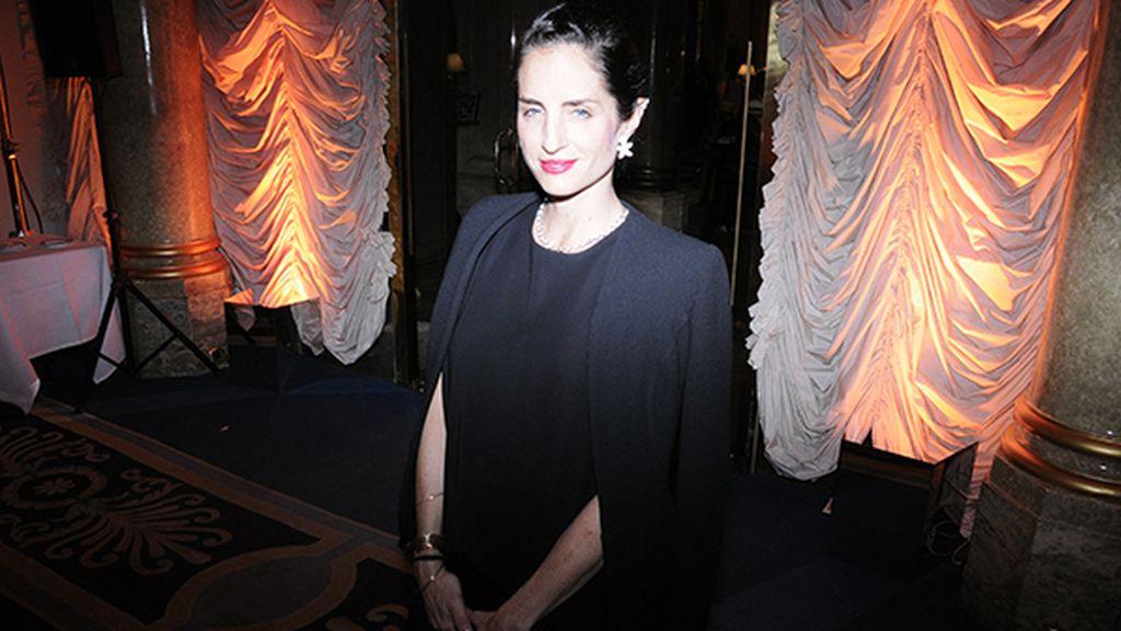 Carolina Adriana Herrera aportando su glamour neoyorquino a la fiesta de los Premios AD